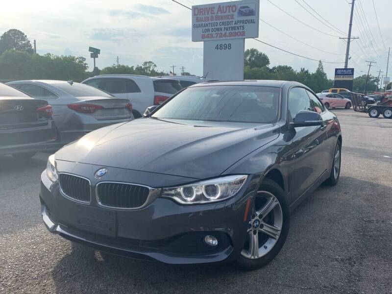 2014 BMW 4 Series for sale at Drive Auto Sales & Service, LLC. in North Charleston SC
