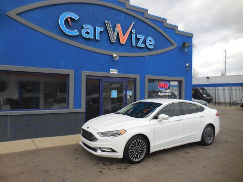 2017 Ford Fusion for sale at Carwize in Detroit MI