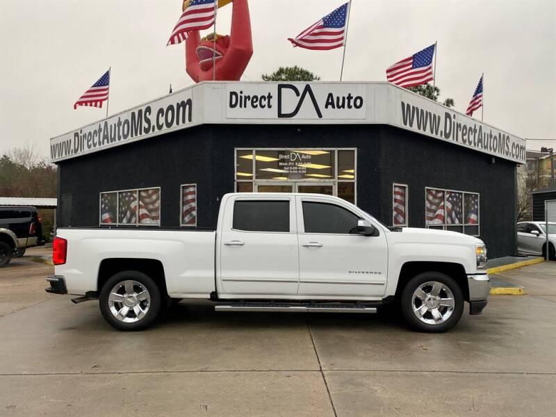 2016 Chevrolet Silverado 1500 for sale at Direct Auto in D'Iberville MS