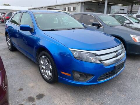 2011 Ford Fusion for sale at Lakeshore Auto Wholesalers in Amherst OH