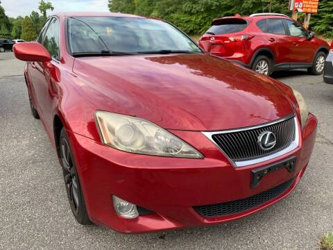 2007 Lexus IS 250 for sale at D & M Discount Auto Sales in Stafford VA