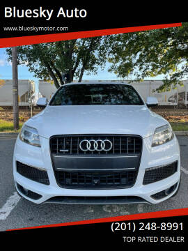 2014 Audi Q7 for sale at Bluesky Auto in Bound Brook NJ