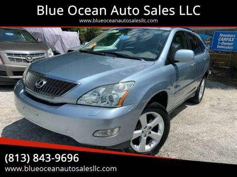 2007 Lexus RX 350 for sale at Blue Ocean Auto Sales LLC in Tampa FL