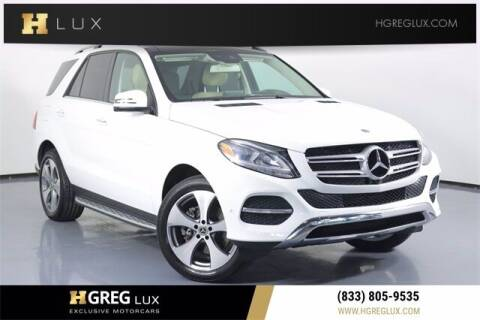2019 Mercedes-Benz GLE for sale at HGREG LUX EXCLUSIVE MOTORCARS in Pompano Beach FL