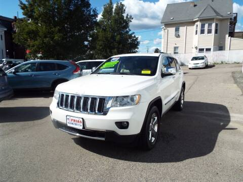 2011 Jeep Grand Cherokee for sale at FRIAS AUTO SALES LLC in Lawrence MA