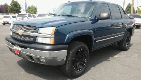2005 Chevrolet Avalanche for sale at Motor City Idaho in Pocatello ID