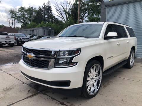 2015 Chevrolet Suburban for sale at Champs Auto Sales in Detroit MI