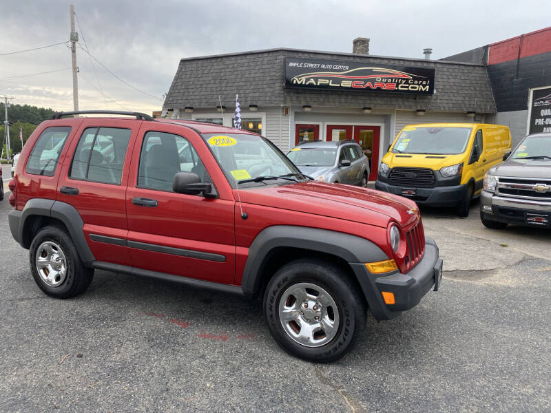 2006 Jeep Liberty for sale at Maple Street Auto Center in Marlborough MA