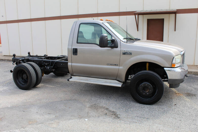 2002 Ford F-450 Super Duty for sale at CANTWEIGHT CLASSICS in Maysville OK