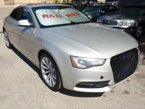 2014 Audi A5 for sale at R & D Motors in Austin TX