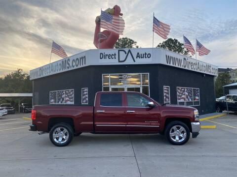2017 Chevrolet Silverado 1500 for sale at Direct Auto in D'Iberville MS