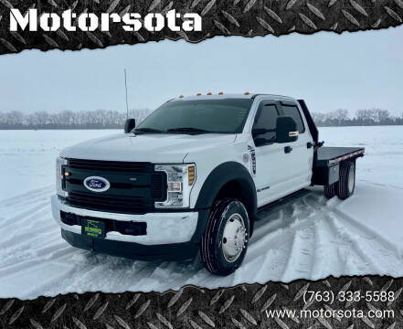 2018 Ford F-550 Super Duty for sale at Motorsota in Becker MN