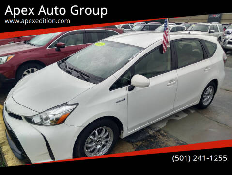 2017 Toyota Prius v for sale at Apex Auto Group in Cabot AR