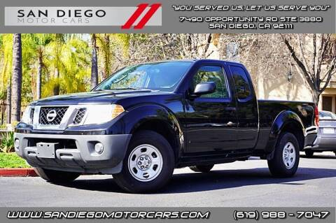 2011 Nissan Frontier for sale at San Diego Motor Cars LLC in San Diego CA