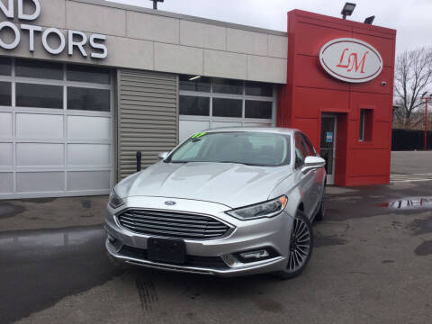 2017 Ford Fusion for sale at Legend Motors of Waterford - Legend Motors of Detroit in Detroit MI