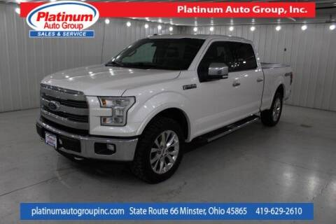 2015 Ford F-150 for sale at Platinum Auto Group Inc. in Minster OH