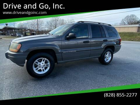 2002 Jeep Grand Cherokee for sale at Drive and Go, Inc. in Hickory NC