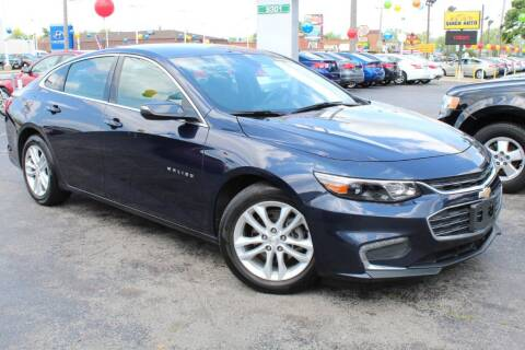 2016 Chevrolet Malibu for sale at Dynamics Auto Sale in Highland IN