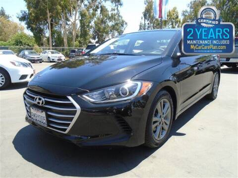 2018 Hyundai Elantra for sale at Centre City Motors in Escondido CA