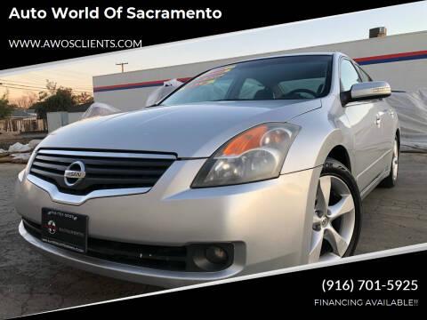 2007 Nissan Altima for sale at Auto World of Sacramento Stockton Blvd in Sacramento CA