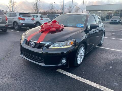 2012 Lexus CT 200h for sale at Charlotte Auto Group, Inc in Monroe NC