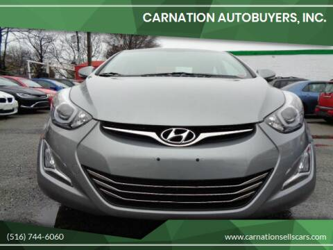 2015 Hyundai Elantra for sale at CarNation AUTOBUYERS Inc. in Rockville Centre NY