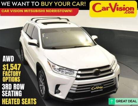 2018 Toyota Highlander for sale at Car Vision Mitsubishi Norristown in Norristown PA