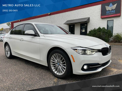 2016 BMW 3 Series for sale at METRO AUTO SALES LLC in Blaine MN