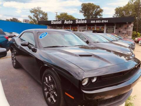 2018 Dodge Challenger for sale at Daniel Auto Sales inc in Clinton Township MI