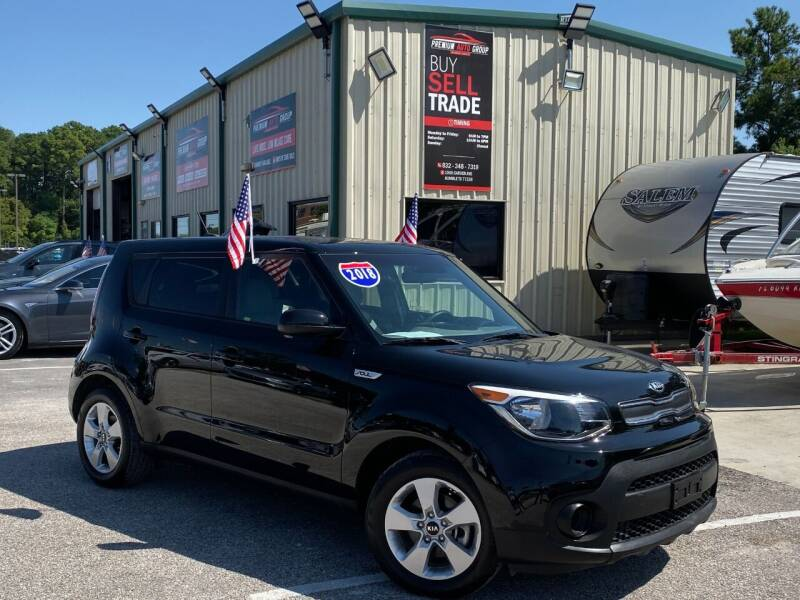 2018 Kia Soul for sale at Premium Auto Group in Humble TX