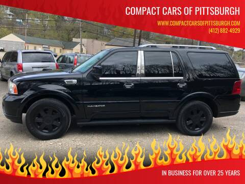 2003 Lincoln Navigator for sale at Compact Cars of Pittsburgh in Pittsburgh PA