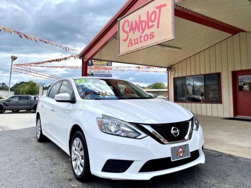 2017 Nissan Sentra for sale at Sandlot Autos in Tyler TX