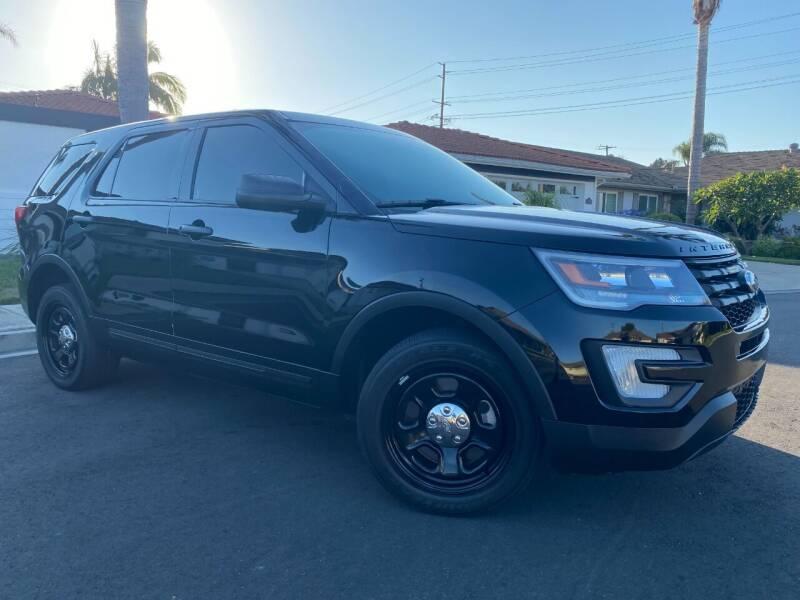 2018 Ford Explorer for sale at SoCal Motors in Los Alamitos CA