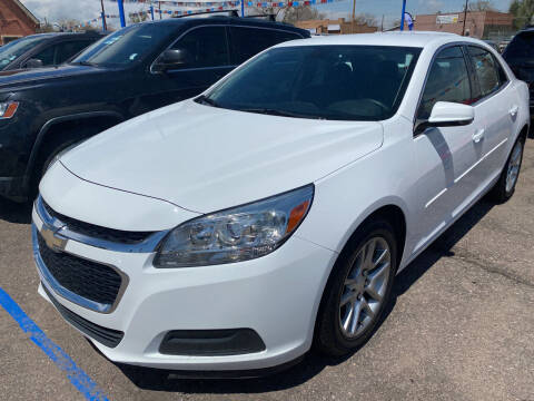 2015 Chevrolet Malibu for sale at Nations Auto Inc. II in Denver CO