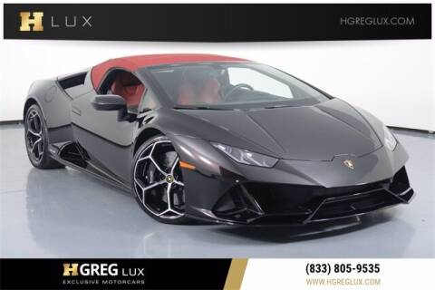 2020 Lamborghini Huracan for sale at HGREG LUX EXCLUSIVE MOTORCARS in Pompano Beach FL