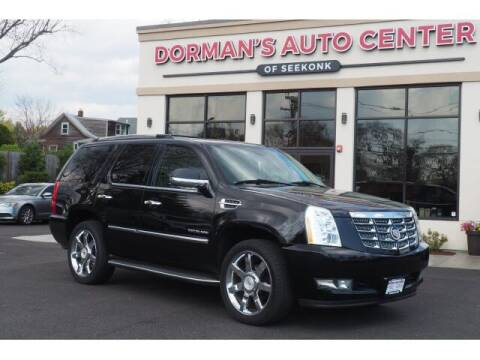 2011 Cadillac Escalade for sale at DORMANS AUTO CENTER OF SEEKONK in Seekonk MA