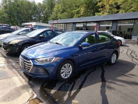 2017 Hyundai Elantra for sale at Curtis Lewis Motor Co in Rockmart GA