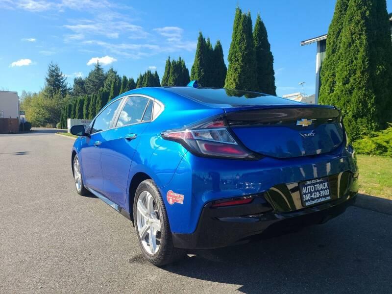 2017 Chevrolet Volt for sale at AUTOTRACK INC in Mount Vernon WA