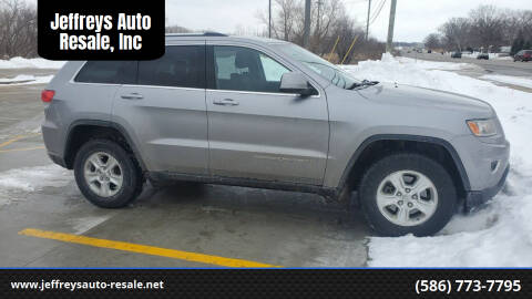 2014 Jeep Grand Cherokee for sale at Jeffreys Auto Resale, Inc in Clinton Township MI