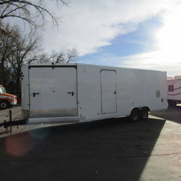 2021 CHARMAC 8FT X 28FT CARGO TRAILER for sale at PRIME RATE MOTORS in Sheridan WY