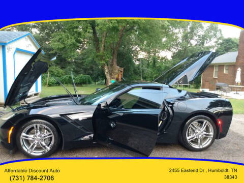 2017 Chevrolet Corvette for sale at AFFORDABLE DISCOUNT AUTO in Humboldt TN