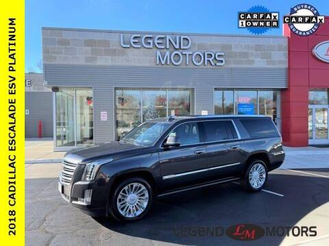 2017 Cadillac Escalade ESV for sale at Legend Motors of Detroit - Legend Motors of Waterford in Waterford MI