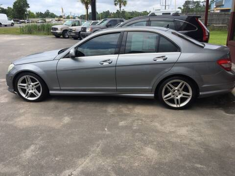 2009 Mercedes-Benz C-Class for sale at Bobby Lafleur Auto Sales in Lake Charles LA