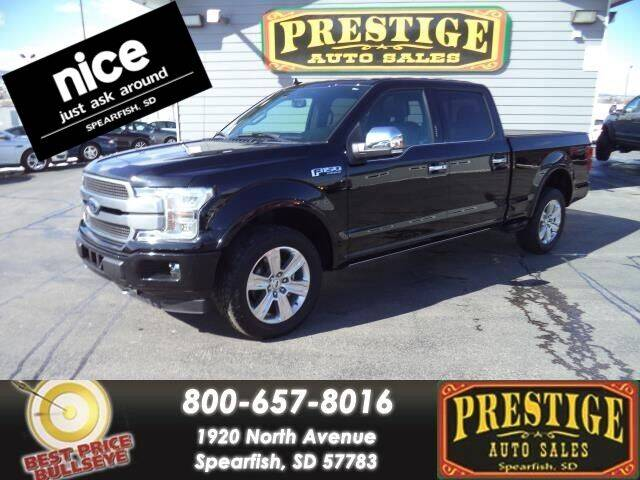 2018 Ford F-150 for sale at PRESTIGE AUTO SALES in Spearfish SD