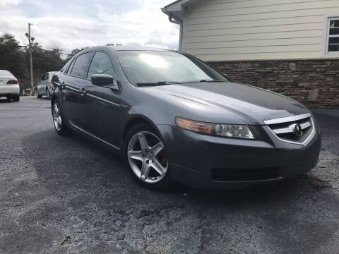 2006 Acura TL for sale at No Full Coverage Auto Sales in Austell GA