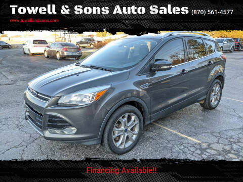 2016 Ford Escape for sale at Towell & Sons Auto Sales in Manila AR