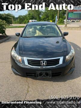 2008 Honda Accord for sale at Top End Auto in North Attleboro MA