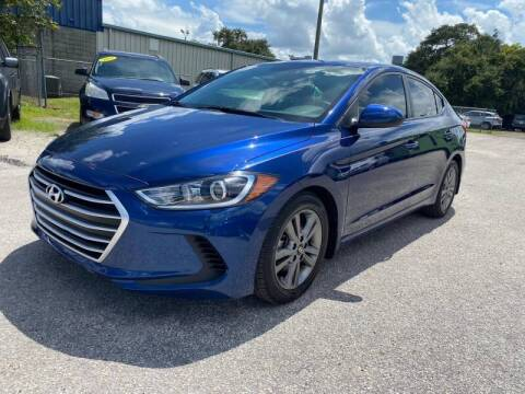 2018 Hyundai Elantra for sale at Marvin Motors in Kissimmee FL