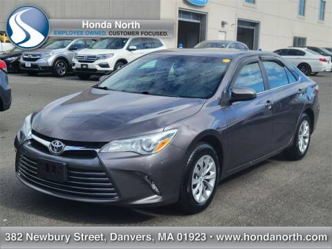 2016 Toyota Camry for sale at 1 North Preowned in Danvers MA