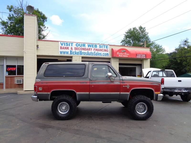 1986 Chevrolet Blazer for sale at Bickel Bros Auto Sales, Inc in Louisville KY